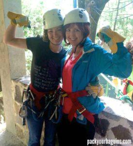 Zip Lining in Guatemala