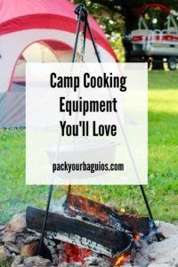 Camp Cooking Equipment You'll Love