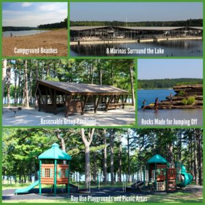 Greers Ferry Collage