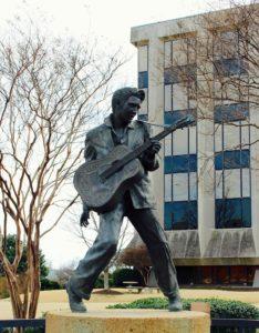Elvis Statue on Beale Street