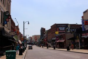 Beale Street during the day