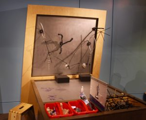 Part of the interactive children's part of the museum