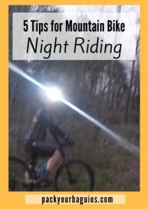 5 Tips for Mountain Bike Night Riding