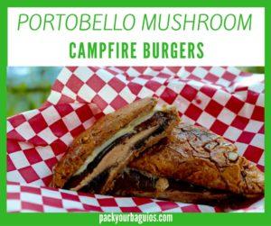 Portobello Mushroom Campfire Burger