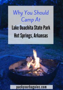 Why You Should Go Camping At Ouachita State Park