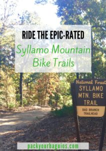 Ride the EPIC-Rated Syllamo Mountain Bike Trails