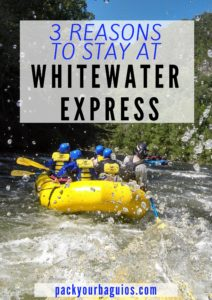 3 Reasons to Stay at Whitewater Express
