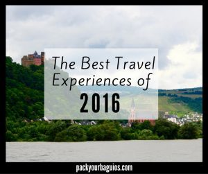 The Best Travel Experiences of 2016