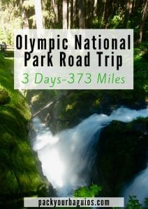 Olympic National Park Road Trip: 3 Days 373 Miles