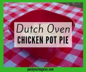 Dutch Oven Chicken Pot Pie