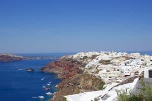 Santorini- Fira to Oia Hike