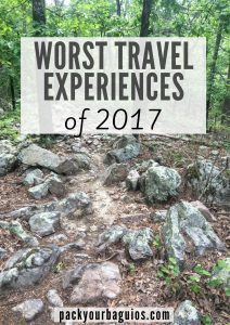 Worst Travel Experiences of 2017