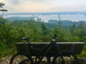The Lake Ouachita Vista Mountain Bike Trail