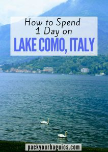 How to Spend 1 Day on Lake Como, Italy