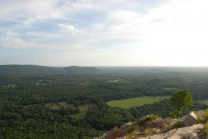 Hiking Pinnacle Mountain in Central Arkansas