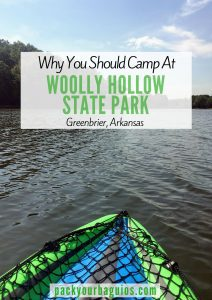 Why You Should Camp at Woolly Hollow State Park
