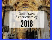 Best Travel Experiences of 2018