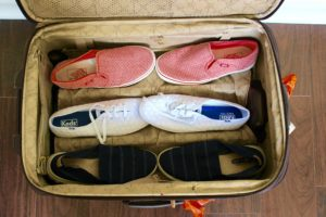 3 Pair of Comfortable Walking Shoes: I love Keds, Vans, and Sketchers!