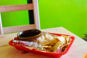 What? No queso? Ended up loving the pico de gallo at Maciel's Tortas & Tacos!