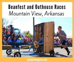 Beanfest and Championship Outhouse Races